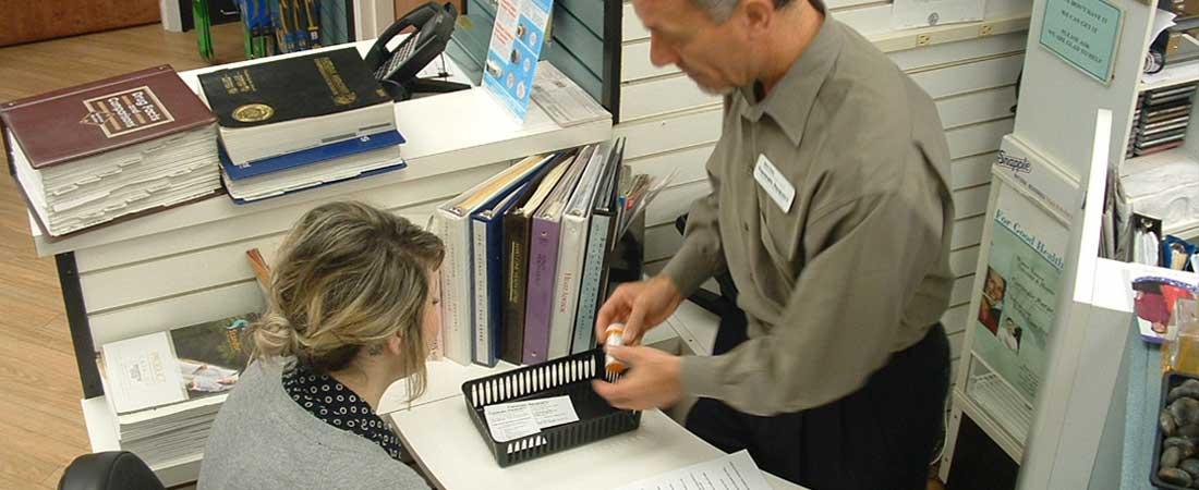 Consultation with Pharmacist regarding a prescription