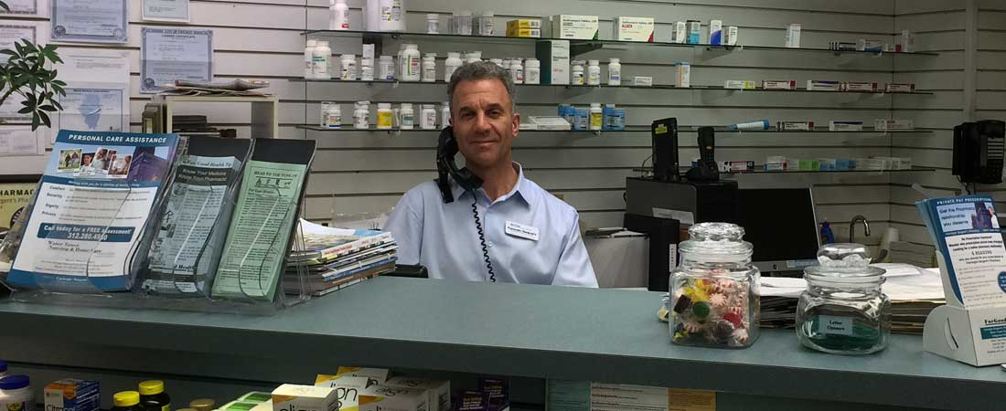 Get health care information from Carnegie Sargent\'s Pharmacy in Chicago