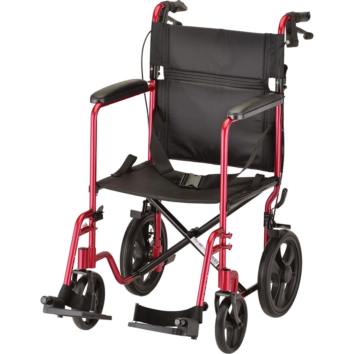 Nova Transport Chair - 20 inch - Lightweight with Hand ...