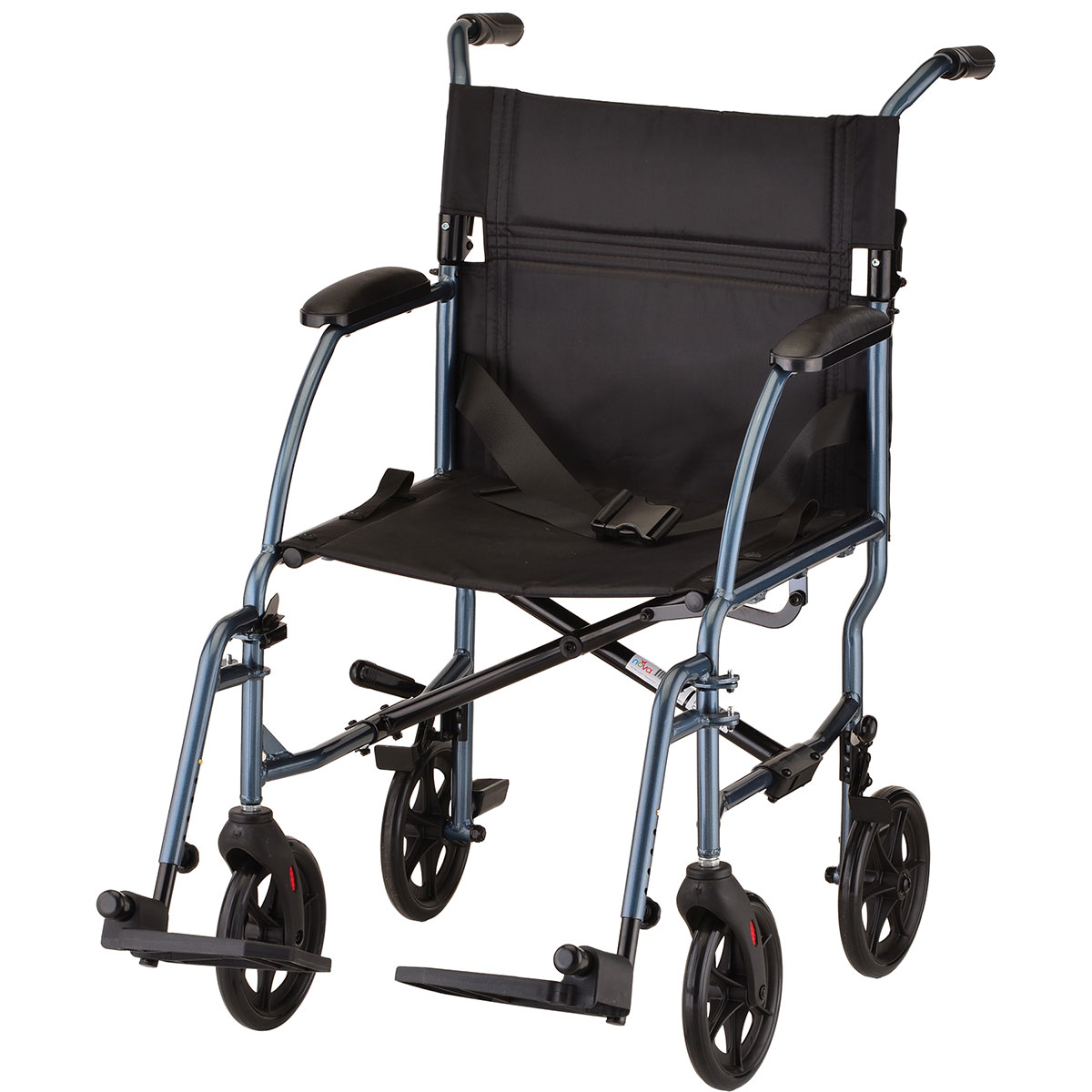Nova Lightweight 19 Quot Transport Chair Blue Carnegie